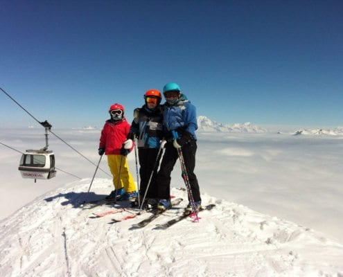 Courchevel Family Skiing