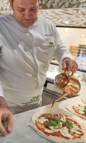 Pizzeria Francesco e Salvatore Salvo a Napoli e San Giorgio a Cremano
