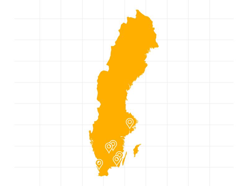 Jersey land krok upp diagram