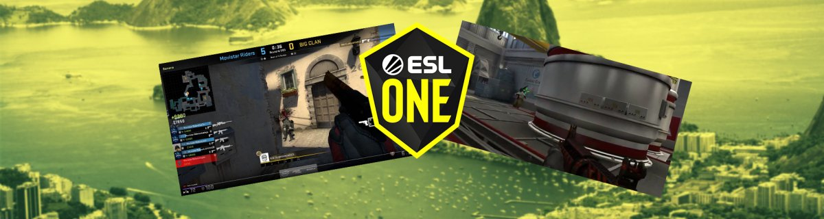 ESL One Rio Minor Qualifier Header