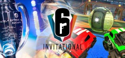 Esport zweite Reihe SC2, Rocket League und Rainbow Six