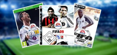 Alle FIFA-Cover