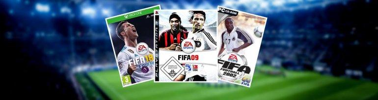 Alle FIFA-Cover