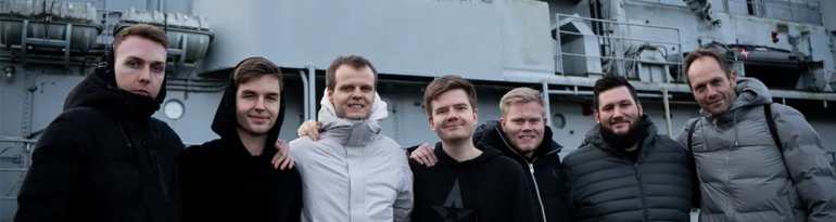 Astralis on bootcamp in January 2020