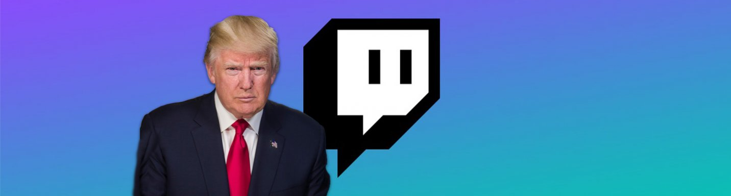 Donald Trump suspended by Twitch