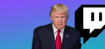 Donald Trump Gebannt Auf Twitch