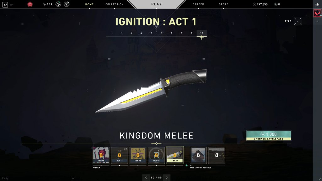 Ignition Act 1 - Kingdom Melee