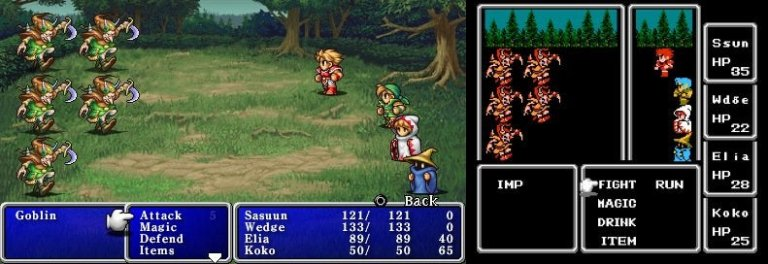 Final Fantasy Gameplay