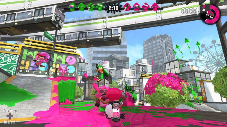 Splatoon2 Gameplay