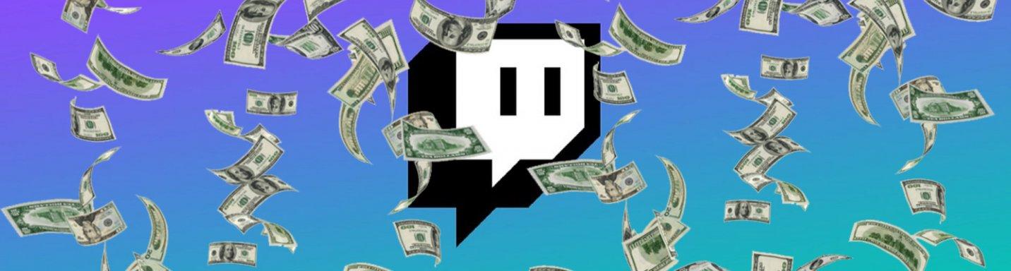 Money spent on Twitch