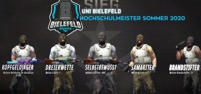 Uniliga Counter-Strike:Global Offensive Hochschulmeister Bielefeld