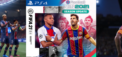 FIFA 21 or PES 2021? Choose your Game!