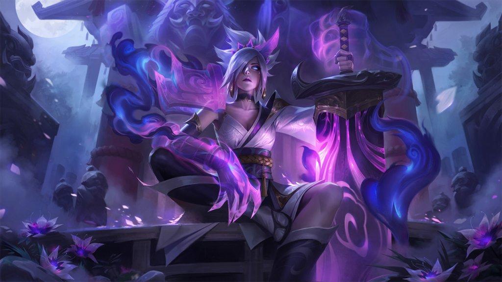 Raven ist einer von fünf Champions mit einem neuen Spirit-Blossom-Skin