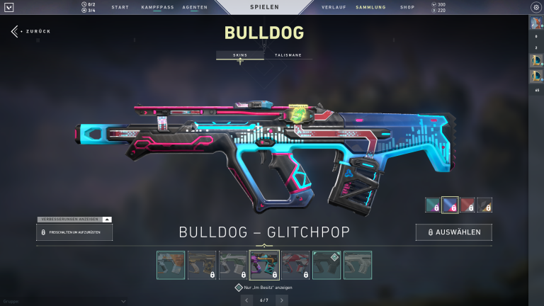 Bulldog - Glitchpop | Level 2 +15 Punkte