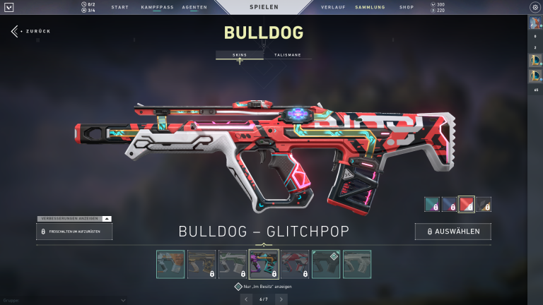 Bulldog - Glitchpop | Level 3 +15 Punkte