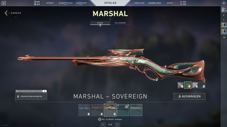 Marshall - Sovereign (Level 2)+15Punkte