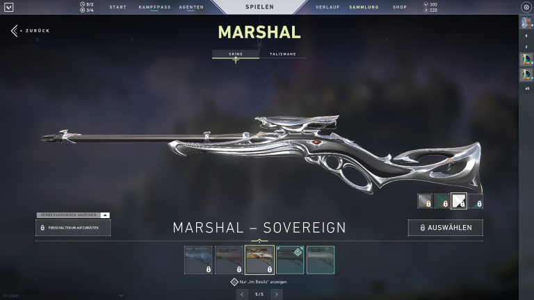 Marshall - Sovereign (Level 3)+15Punkte