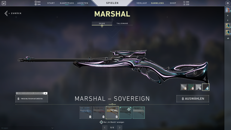 Marshall - Sovereign (Level 4)+15Punkte