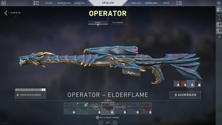 Operator - Elderflame (Level 3)+15Punkte