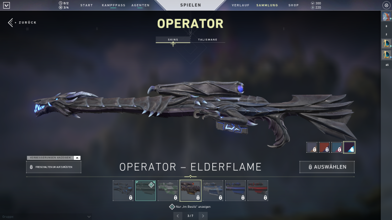 Operator - Elderflame (Level 4)+15Punkte