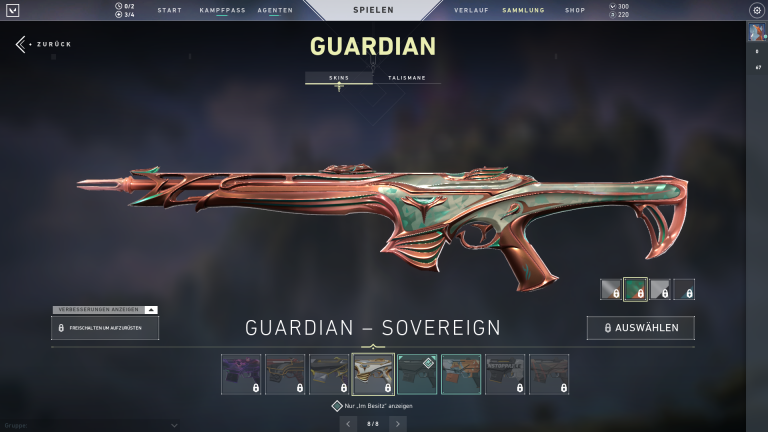 Guardian - Sovereign | Level 2 + 15 Punkte