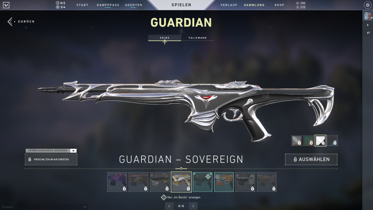 Guardian - Sovereign | Level 3 + 15 Punkte