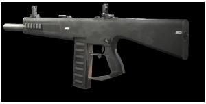 Die AA-12 aus Modern Warfare 2