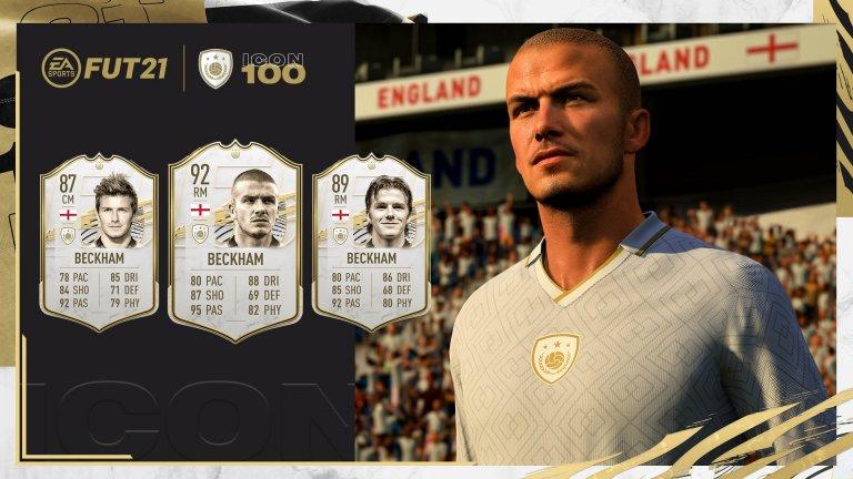 Neu in FIFA 21 - David Beckham