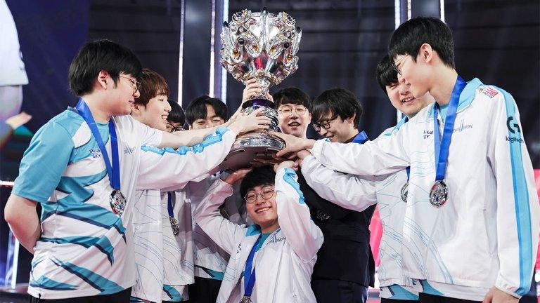 DAMWON Gaming 2020 World Champions
