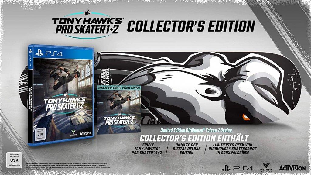 Tony Hawk's Pro Skater 1+2 Collectors Edition