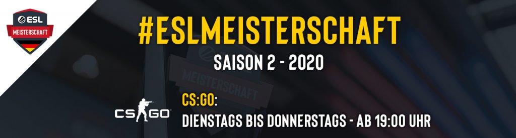ESL Meisterschaft Banner