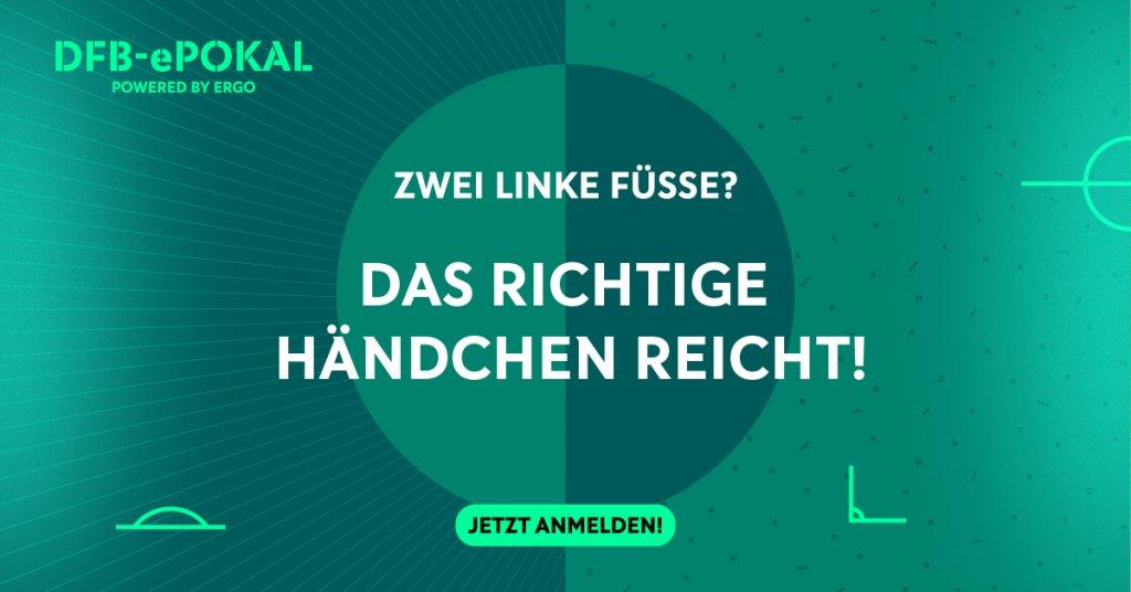 DFB e-POkal powered by ERGO Linke Füsse
