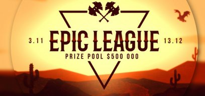 Dota 2EPIC League Announced