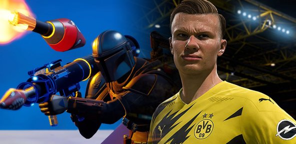 Fortnite Epic Games FIFA 21 EA Sports