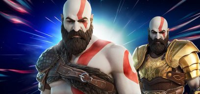 Kratos in Fortnite