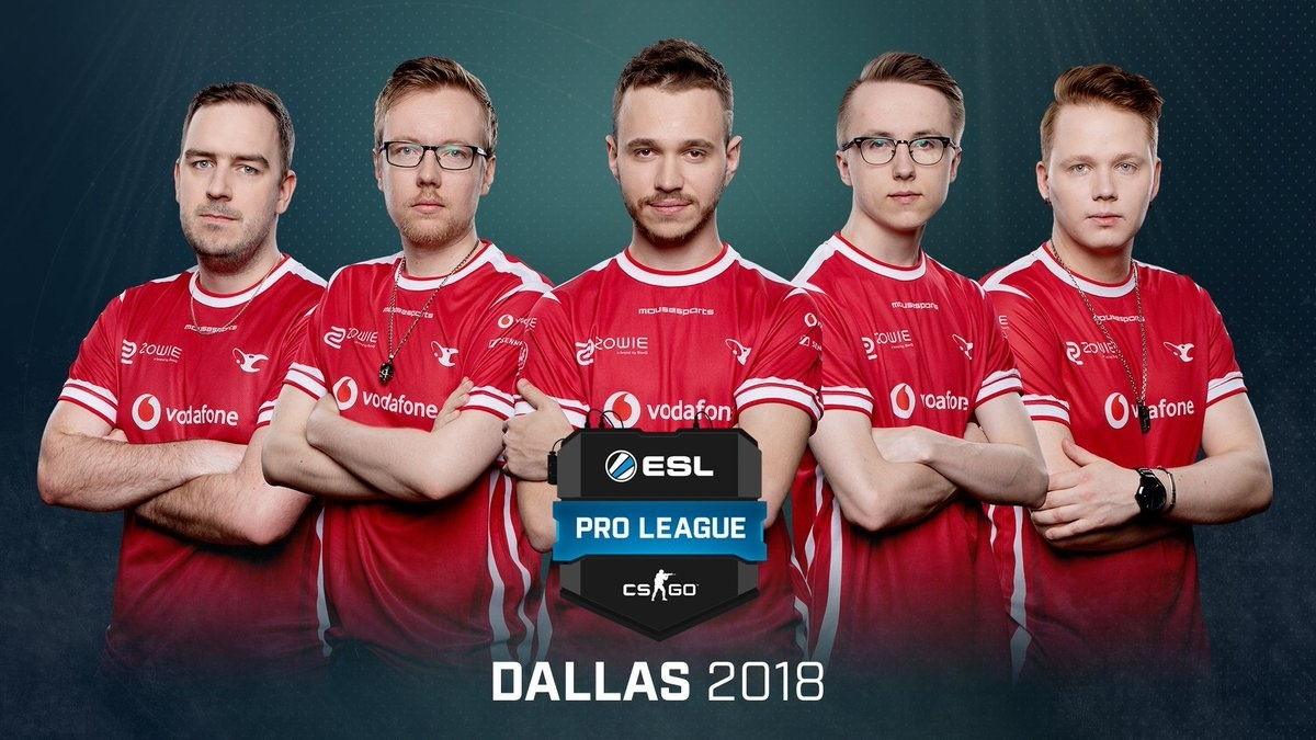 Mousesports In 2018 during ESL Pro League 7