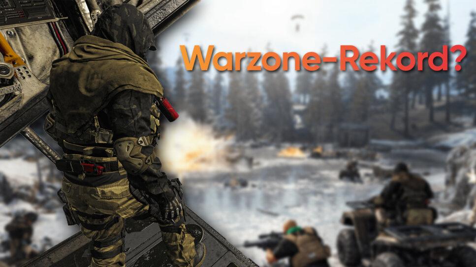 Rekordversuch In Warzone