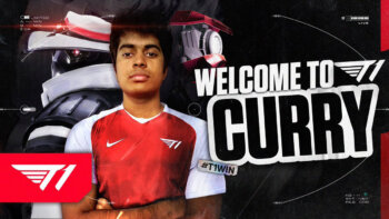T1 Sign Curry To Valorant Roster