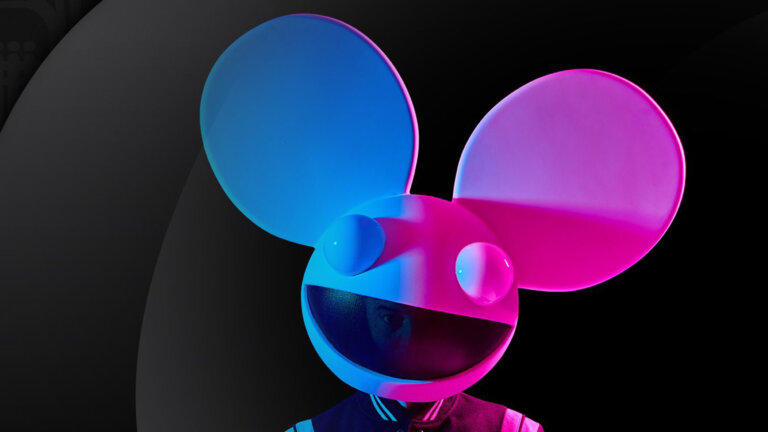 Deadmau5 with white helmet promopicture