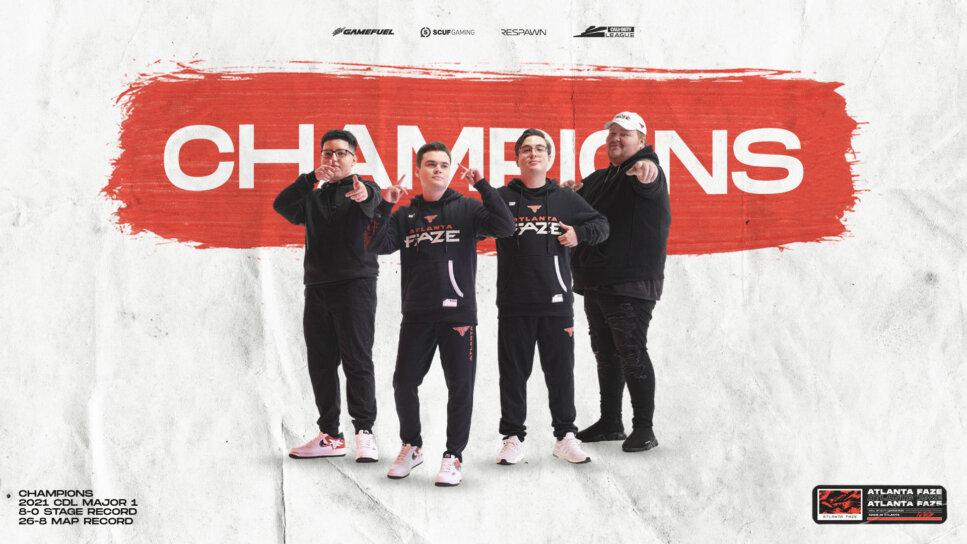 FaZe Major Champs