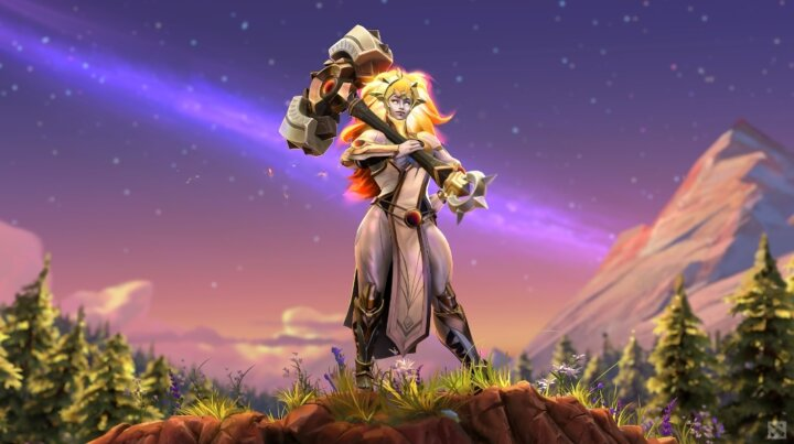 New Dota 2 hero Dawnbreaker added in patch 7.29