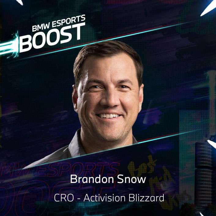 BMW Esports Boost Speaker - Brandon Snow