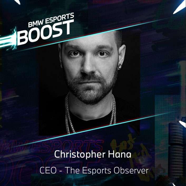 BMW Esports Speaker - Christopher Hana