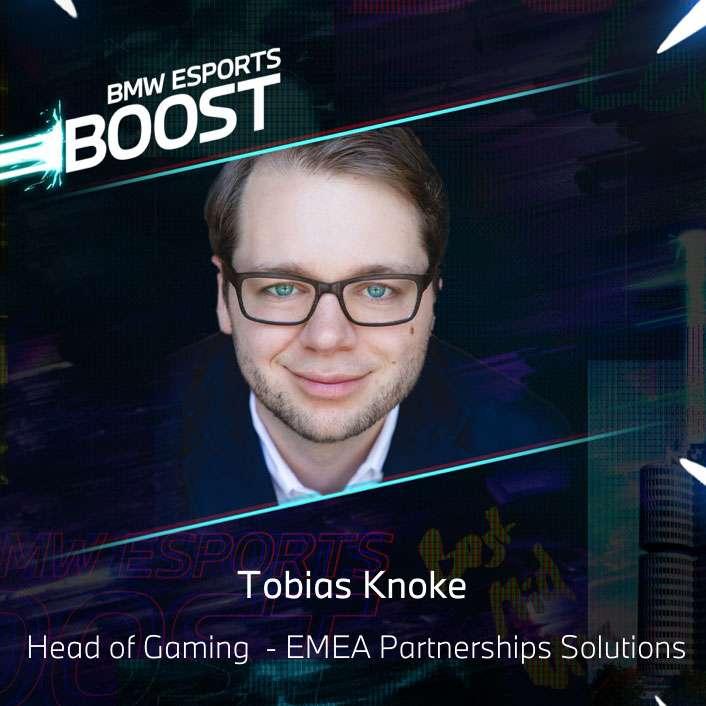 BMW Esports Boost Speaker - Tobias Knoke