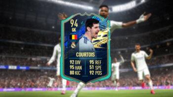 Courtois FIFA 21 FUT TOTS SBC EA Sports