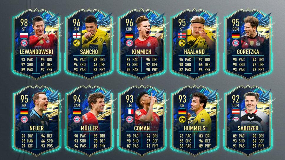 TOTS Bundesliga EA FUT 21
