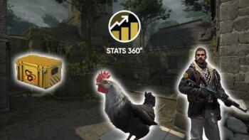 csgo update snakebite chicken stats 360