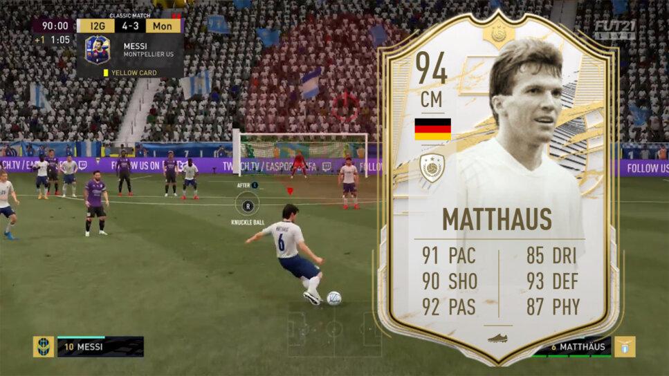 FIFA 21 Reddit Lothar Matthäus Freistoß