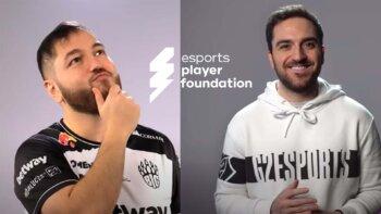 esports player foundation Kampagne