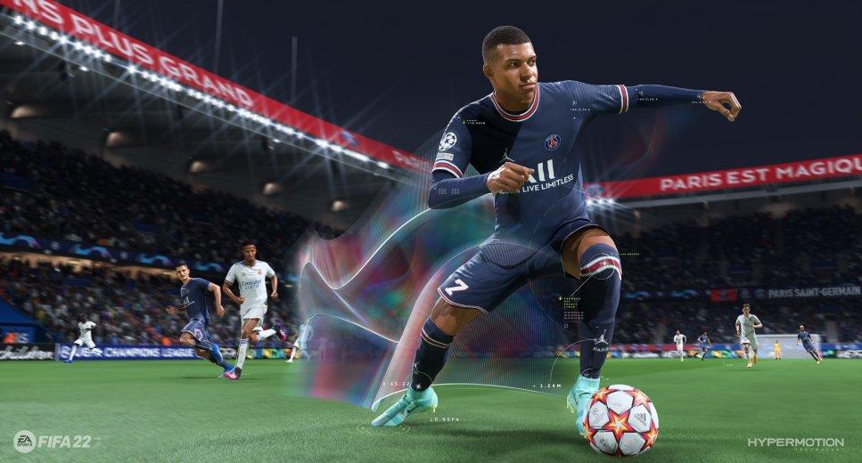 FIFA 22 Hypermotion Technology Mbappe